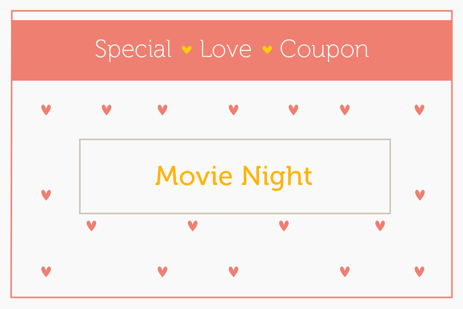 Love coupon 3