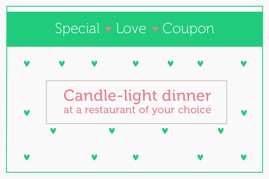 Love coupon 4