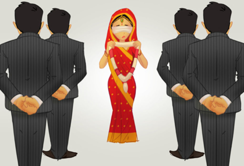 an arranged marriage Well parents with their children mostly in 20s want them to married to a person chosen by them is arranged marriage both the parties involved are given an.