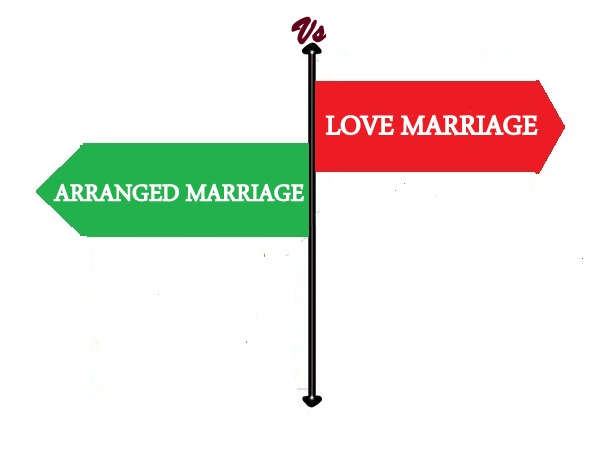 love vs arranged marriage Is love really essential to marriage asking ourselves to fall in love many times, always with the same person posted apr 07, 2014.