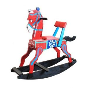 Handcrafted Wooden Attractive Rocking Horse